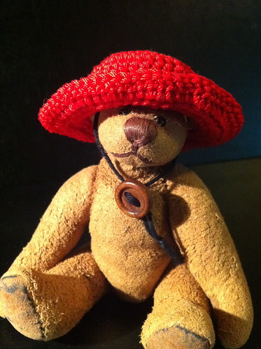 Borromini Bear  and Ea's red hat 03(hot day)