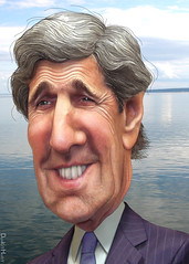 John Kerry - Caricature