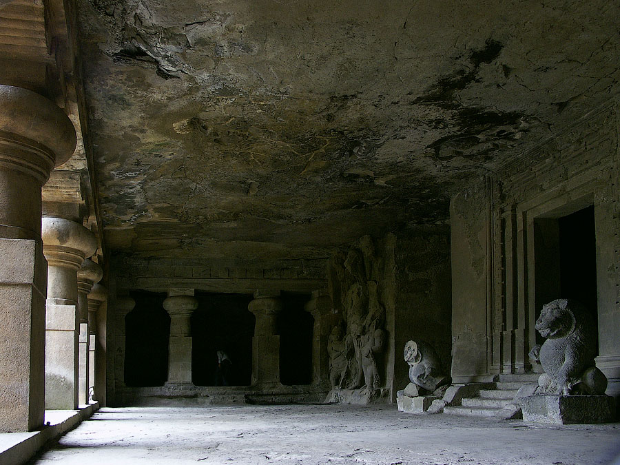 Скальные храмы, остров Элефанта