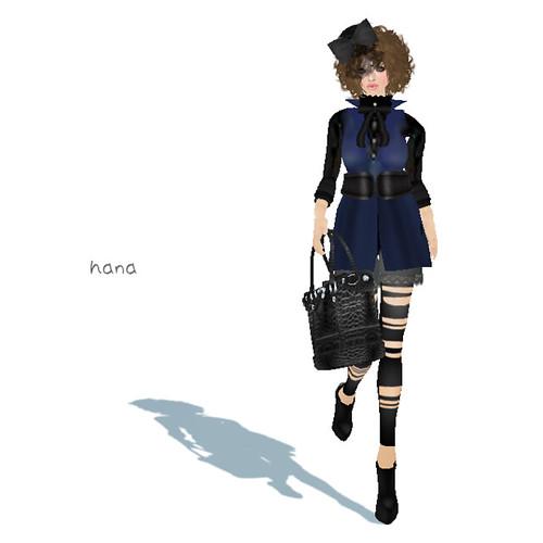 Halcali:::vest dress & leggings