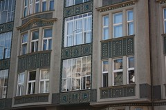 "Decorative house in Jewish Quarters of Prague (Prag/Praha) • <a style=""font-size:0.8em;"" href=""http://www.flickr.com/photos/23564737@N07/6082621775/"" target=""_blank"">View on Flickr</a>"