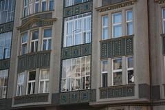 "Decorative house in Jewish Quarters of Prague (Prag/Praha) • <a style=""font-size:0.8em;"" href=""http://www.flickr.com/photos/23564737@N07/6082621775/"" target=""_blank"">View on Flickr</a>"