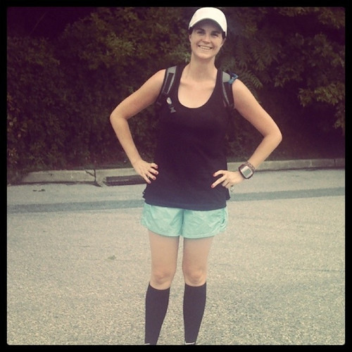 marathon training.