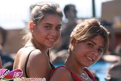 IMG_6607 (Streamer -  ) Tags: blue girls party two hot sexy men beach boys water pool hair israel model eyes sand women yam teen bikini  tanned  streamer     ashkelon               ashqelon    tzalam