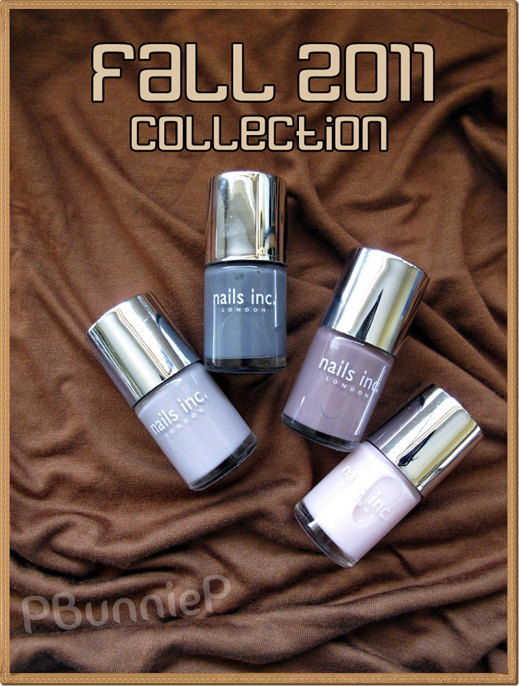 Nail Inc. Fall2011 Collection
