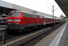 218480_bike-ex_Mannheim_110828 (EE507) Tags: train germany deutschland rail db bahn br218 class218