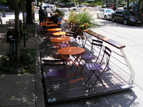 Green Line Parklet (Side View)