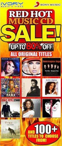 The Red Hot CD Sale