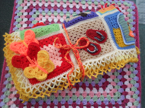 Well here is our first 'Tropical Blanket'.