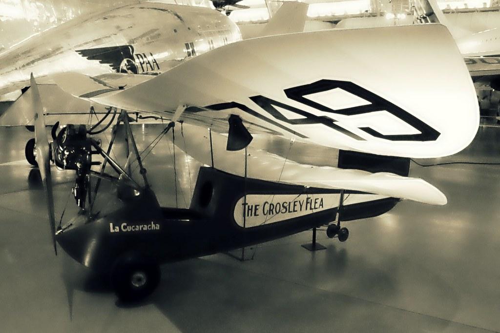THE HM.14 POU DU CIEL LA CURARACHA CROSLEY FLYING FLEA