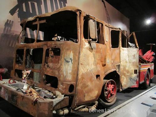 911 exhibit firetruck