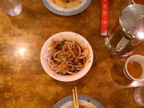 Cold jelly noodles Chengdu style