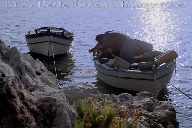 Pescatore che Sgotta
