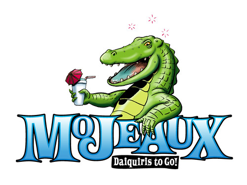 Mojeaux Daiquiris to Go Logo by Manly Art