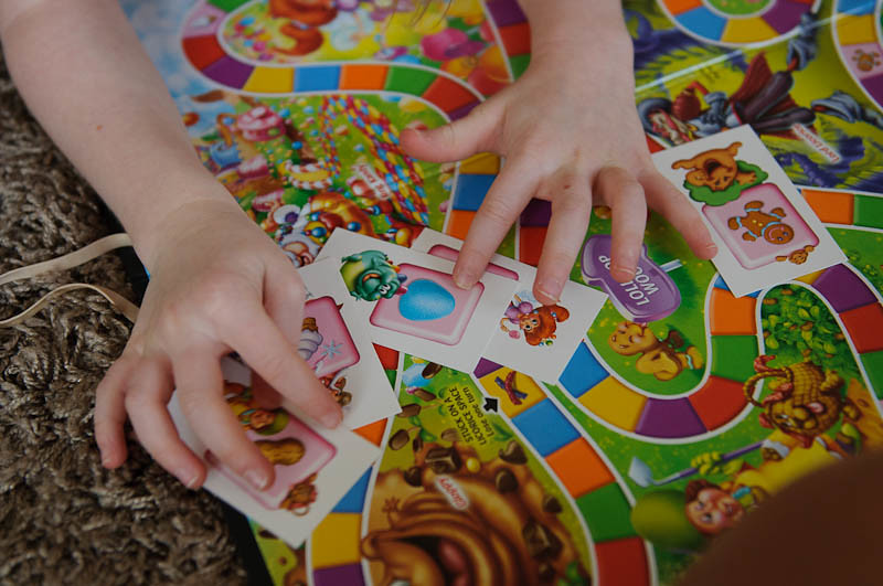 Candy Land Cards