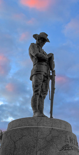Sep 03 - Anzac Digger by Glen Adamson