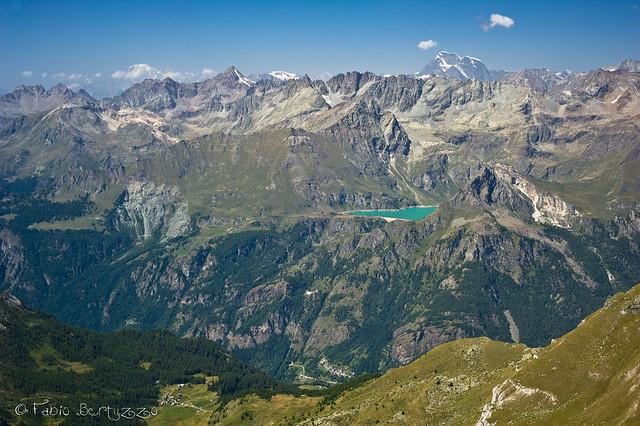 Grand Combin, Monte Bianco, Lago di Cignana e tutto il resto...