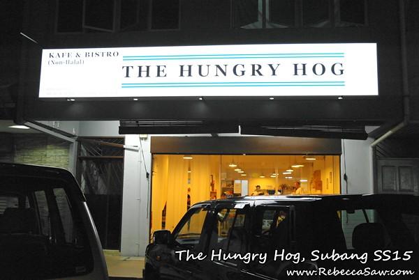 the hungry hog, subang ss15