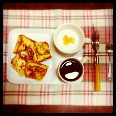 朝ごはん フレンチトースト