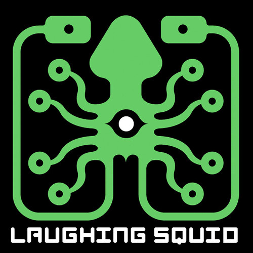 Early Version of Laughing Squid Logo by Matt Dong (2000)