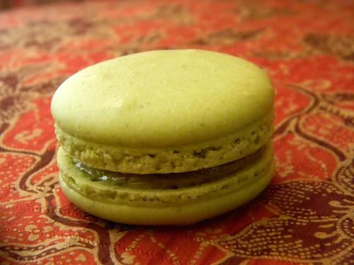 Pistachio Macarons