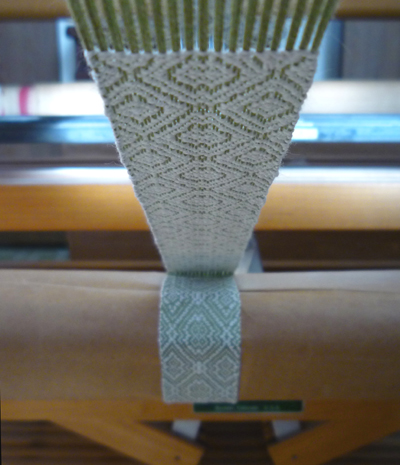 woven bookmark