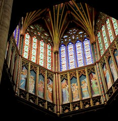 The Lantern (Shertila Tony) Tags: england church architecture painting wooden europe cathedral britain interior religion ceiling christian ely lantern georgegilbertscott cambridgshire churchofengland mygearandme