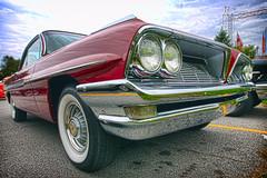 1961 Pontiac Ventura HDR (hz536n/George Thomas) Tags: red summer canon lab michigan september orphan canon5d pontiac upnorth hdr ventura 1961 2010 frankenmuth smrgsbord labcolor ef1740mmf4lusm cs5 topazadjust hz536n