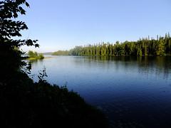 Semiwhite Lake (Viv Lynch) Tags: camping summer evening provincialpark northernontario 2011 lae missisagi semiwhite