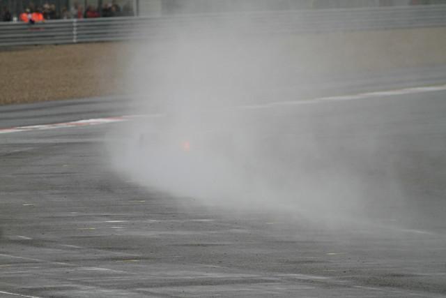 F1 in the rain!