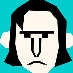 Potter Puppet Pal Quilt Block - Severus Snape