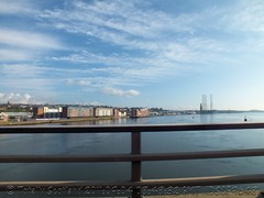 Dundee from the Tay Road Bridge 1/2