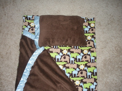 Nap mat I made for Gabe