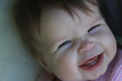 Sienna smiles