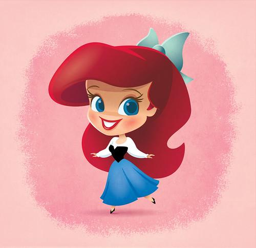 Little Disney Princess - Ariel by Jerrod Maruyama