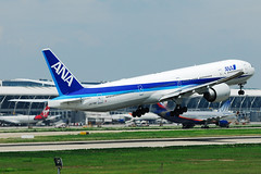 ANA All Nippon Airways Boeing 777-381ER JA779A  MSN 34894 (Jimmy LWH) Tags: ana aircraft nh boeing flugzeug 777 avion sigma100300mm vliegtuig boeing777 staralliance pvg aeroplano 全日空 777300er boeing777300er 波音 ex100300f4 777381er zspd ja779a 星空联盟 lwh1988 19jul2011zspd msn34894