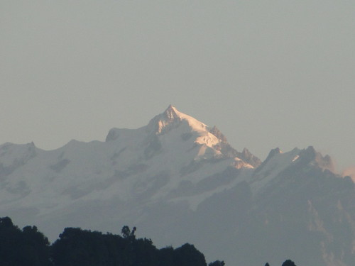 Mountain range as seen from Maneybhanjan