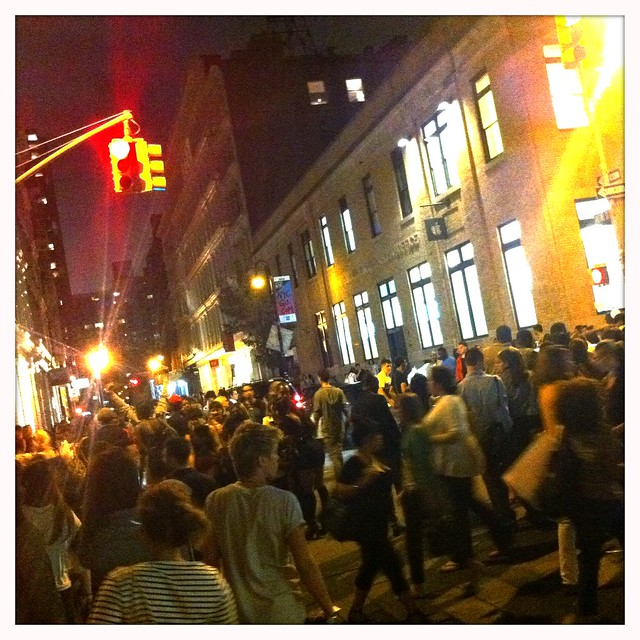 Fashion's Night Out, SoHo, NYC 2011