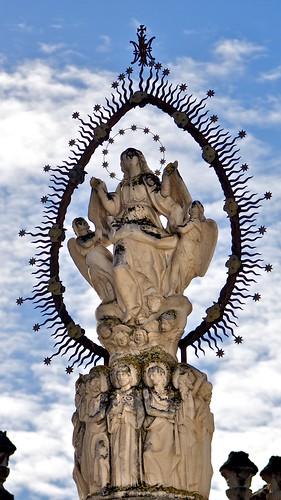 El monumento a La Asunción, Jerez de la Frontera