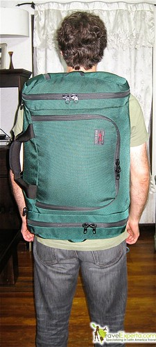 tom bihn back pack review back view