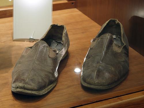Sandalias del padre Pio