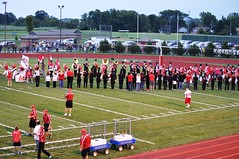 London Red Raider Marching Band 2011 (London Tom) Tags: school ohio red london high band marching lhs raiders raider 2011