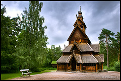 Oslo - The Stave Church of the Norwegian Folk Museum (Yen Baet) Tags: oslo norway ferry architecture countryside construction ancient europe culture eu medieval nordic scandinavia peninsula stavechurch cultural oslofjord norwegianfolkmuseum noreg folkmuseum norskfolkemuseum bygdoy outdoormuseum nynorsk europeancities openmuseum europeancapital kingdomofnorway