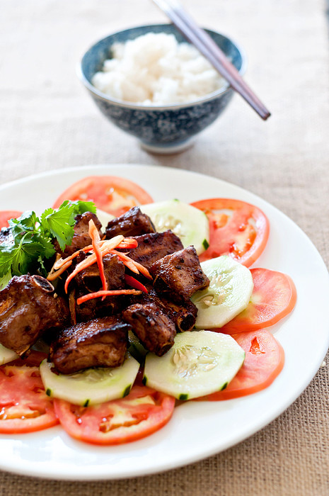 Vietnamese Caramelized Pork Spare Ribs