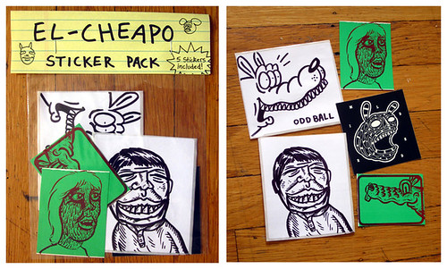 El Cheapo sticker packs