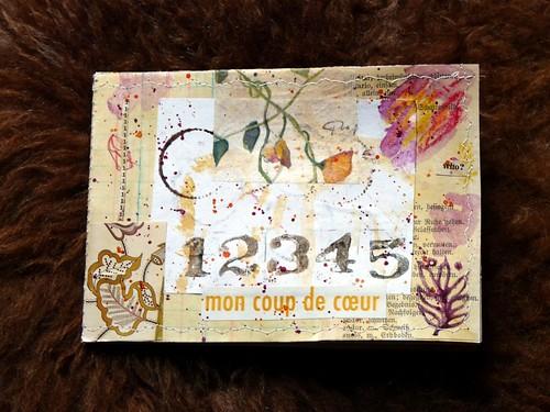 Collage Minibook Coup de Coeur Cover