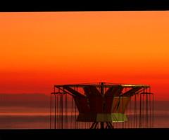 None (Giuseppe Suaria) Tags: sunset sea orange tramonto mare carousel merrygoround giostra carrousel arancione gargano peschici carosello abigfave