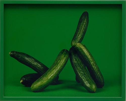 Elad Lassry, Persian Cucumbers, Shuk Hakarmel, 2008