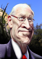 Dick Cheney - Caricature