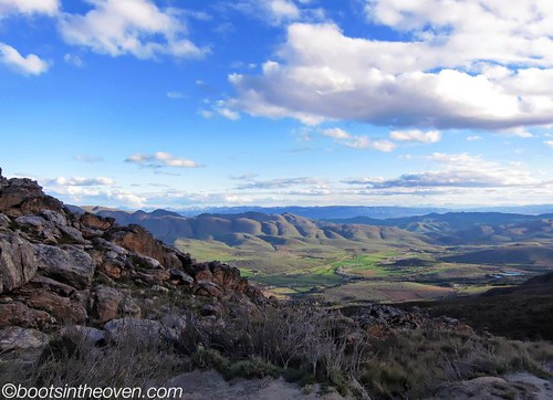 View along the Swartberg Pass